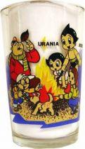 Astro Boy - Amora Mustard glass (Astro Boy, Urania & friends/flying Astro Boy)