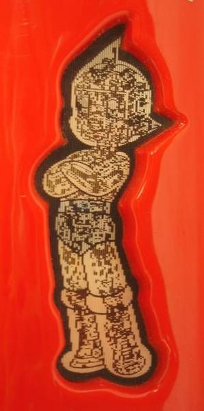 Astro Boy - Plastic plumier w/visiomatic image