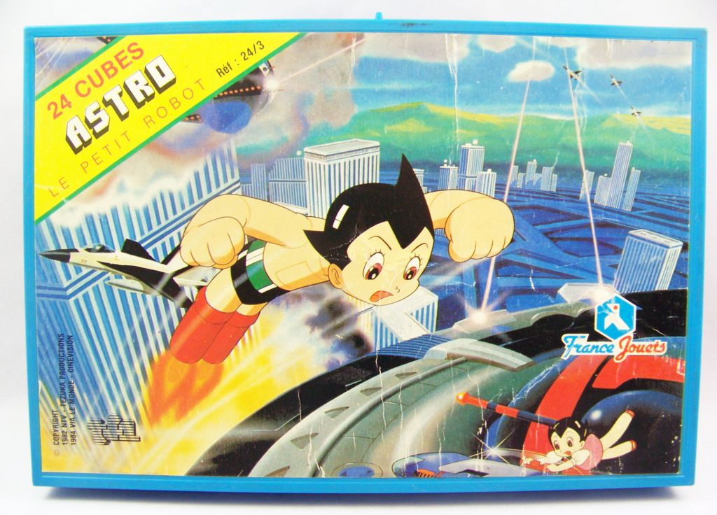 Astro Boy - Set of 24 cubes - France Jouets
