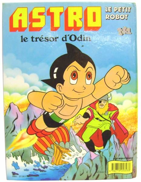 Astro Boy - Story Book  Whitman TF1 Editons - The Odin\\\'s tresor