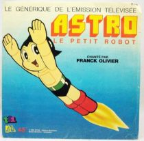 Astro le Petit Robot - Disque 45T- Générique série TV - Disque Ades 1986