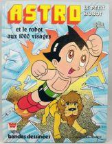 Astro le petit robot - Livre Whitman Editions TF1 - Astro et le robot aux 1000 visages