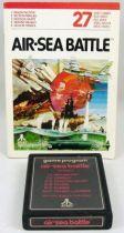 Atari 2600 - Air-Sea Battle (cartridge + instructions)