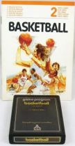 Atari 2600 - Basketball (cartridge + instructions)