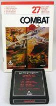 Atari 2600 - Combat (cartridge + instructions)