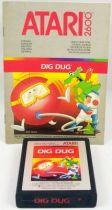 Atari 2600 - Dig Dug (cartouche + notice)