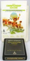 Atari 2600 - Pele\'s Championship Soccer (cartridge + instructions)