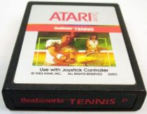 Atari 2600 - RealSports Tennis (cartridge only)