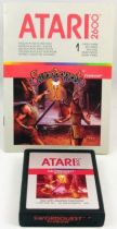 Atari 2600 - Swordquest FireWorld (cartridge + instructions)