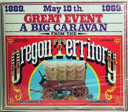 Atlantic 1:32 Wild West 1217 Big Caravan Wild West Covered Wagon