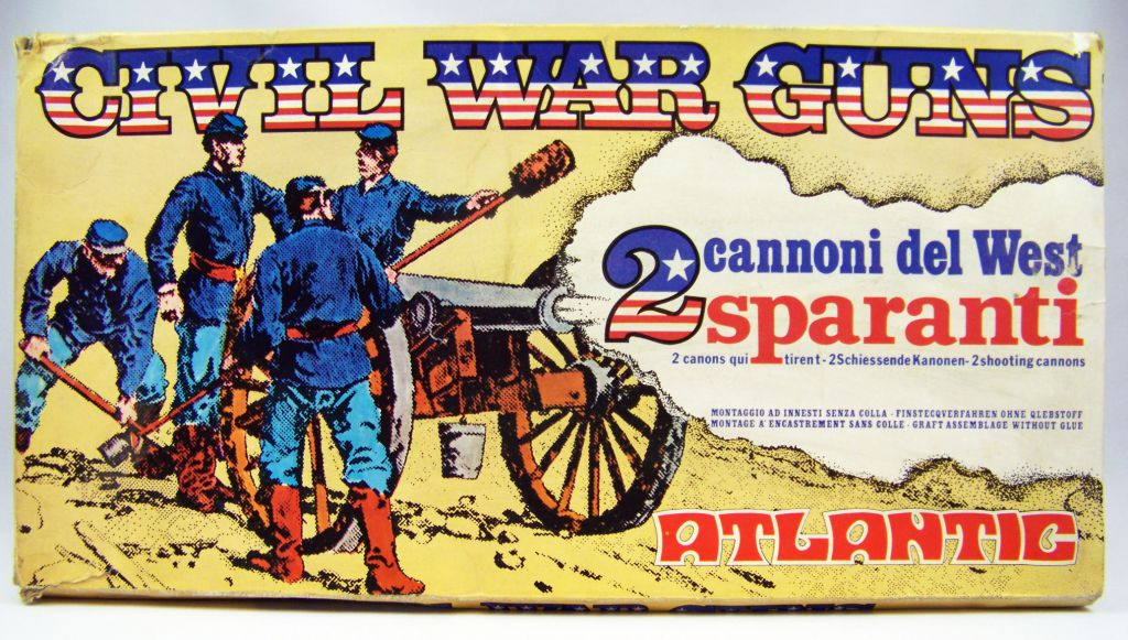 Atlantic 1:32 Wild West 691 American Civil War Gun