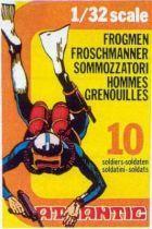 Atlantic 1:32 WW2 2104 Frogmens Mint in Box