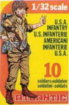 Atlantic 1:32 WW2 2105 American Infantry