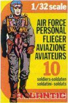 Atlantic 1:32 WW2 2106 Air Force personal