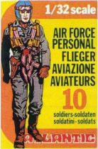 Atlantic 1:32 WW2 2106 Air Force personal