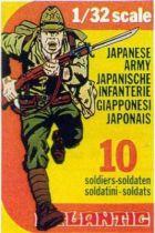 Atlantic 1:32 WW2 2107 Japanese Infantry