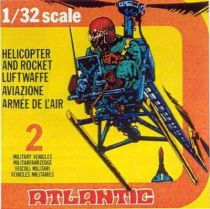 Atlantic 1:32 WW2 2153 Helicopter Mint in Box