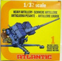 Atlantic 1:32 WW2 2162 Heavy Artillery Mint in Box