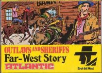 Atlantic 1:72 1014 Outlaws and Sheriffs Mint in box