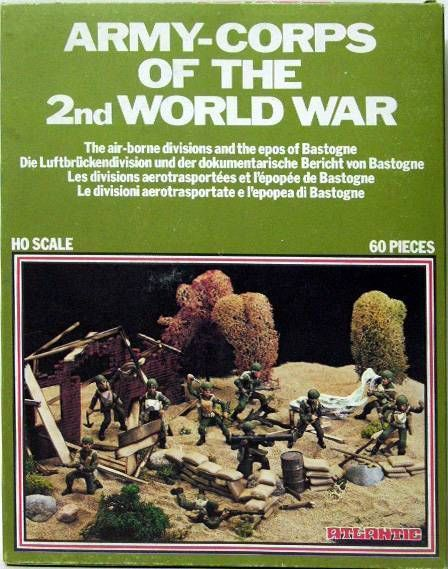 Atlantic 1:72 1574 The Airborne Divisions and the Epos of Bastone