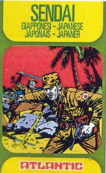 Atlantic 1:72 4055 Sendai (Japanese) Mint in Box