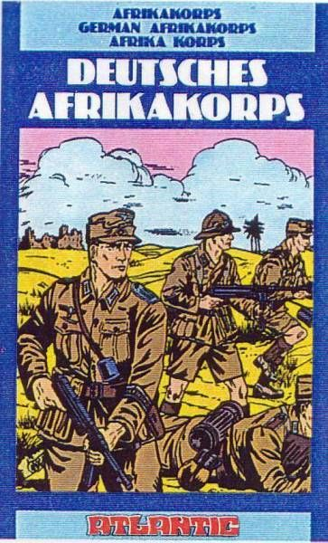 Atlantic 1:72 4056 German Afrika Korps Mint in Box