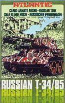 Atlantic 1:72 4605 Russian Tank T34/85