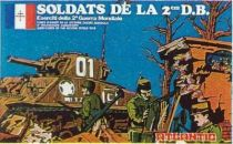 Atlantic 1:72 57 French 2sd D.B. Troopers Mint in Box