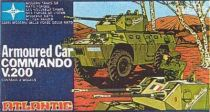 Atlantic 1:72 607 Armored car Commando V200
