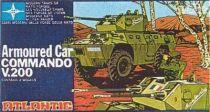 Atlantic 1:72 607 Armored car Commando V200