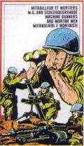 Atlantic 1:72 Serie Export 119 Machine Gunners & Mortar Mens