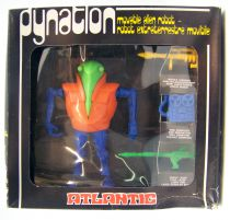 Atlantic Galaxy Serie Dynatlon (orange torso, blue limbs, green head))