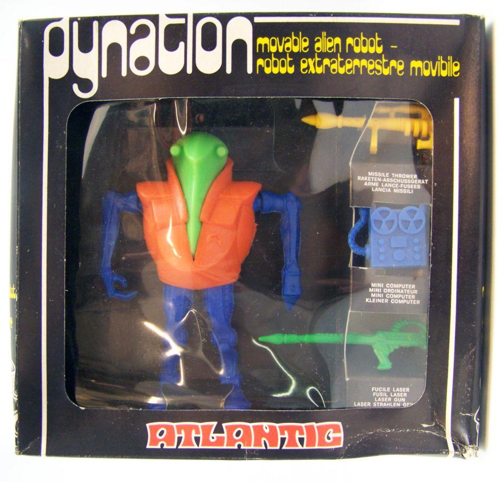 Atlantic Galaxy série Dynatlon (torse orange, membres bleus, tête verte)