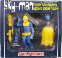 Atlantic Galaxy série Sky-Man (corps bleu, armure jaune)