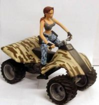 Atlas - Tomb Raider - 5\'\' statue - Lara Croft - Tomb Raider, Lara on Quad