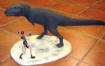 Atlas - Tomb Raider - 5\'\' statue - Lara Croft the Dagger of Xian , Lara vs. T-Rex