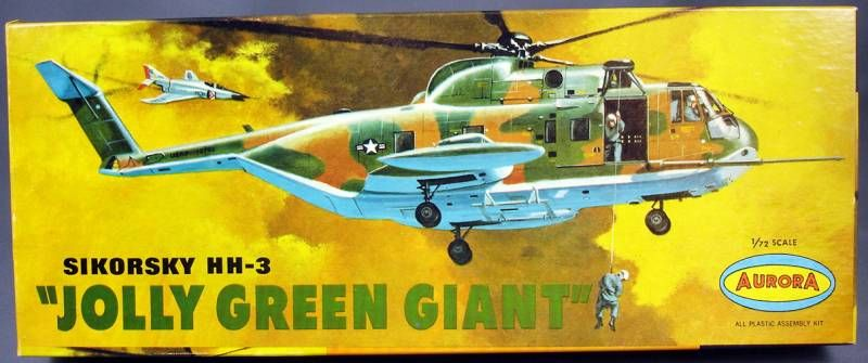 Aurora - N°505-130 Sikorsky HH-3 Jolly Green Giant 1/72