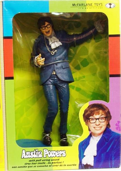 Austin Powers - McFarlane Toys - 9\'\' Talking Austin Powers