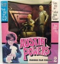 Austin Powers - McFarlane Toys - Dr. Denfer & Mini-Moi avec Mini-Mobile