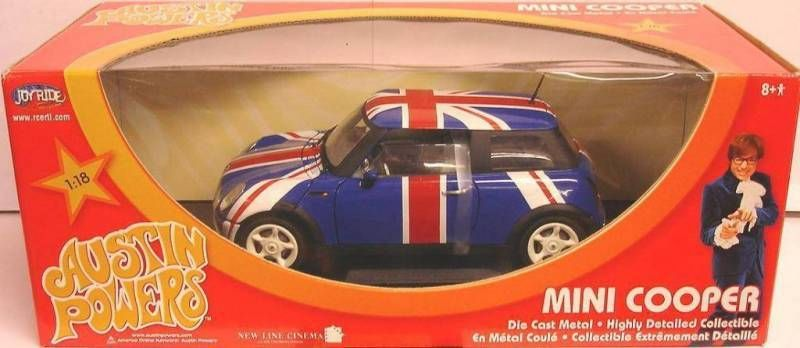 Austin Powers -ERTL - 1:18 die-cast Mini Cooper