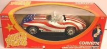 Austin Powers 1:18 die-cast Corvette