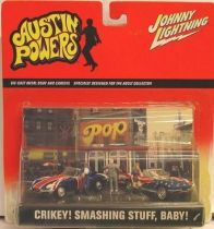 Austin Powers Johnny Lightning vehicles set