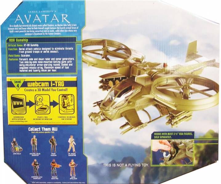Avatar - RDA \'\'Scorpion\'\' Gunship