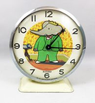 Babar - Bayard - Mechanical Alarm Clock (1971)