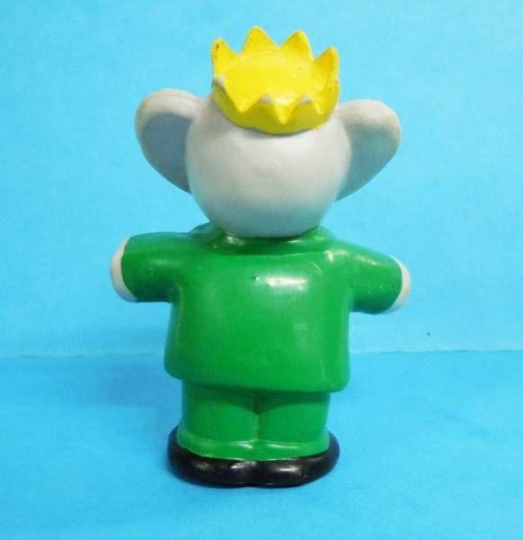 Babar - L. de Brunhoff 1988 PVC Figure - King Babar