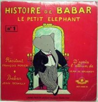 Babar - Mini Lp and book - Story of Babar the little elephant