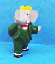 Babar - Plastoy PVC Figure - Babar (King)