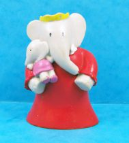 Babar - Plastoy PVC Figure - Céleste (red dress) and Isabelle