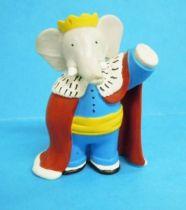 Babar - Plastoy PVC Figure - King Babar