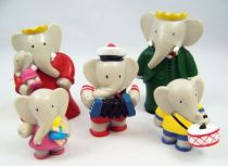Babar - Figurines PVC Plastoy - Famille royale Babar 01